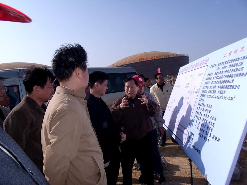 省委常委副省长张志南听取古雷进展汇报