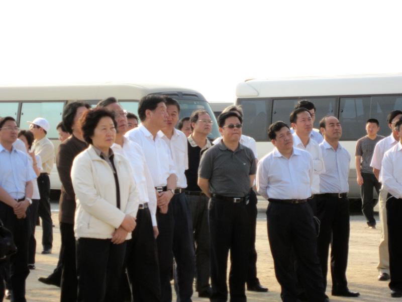 省委书记孙春兰、省长黄小晶关注古雷填海工程