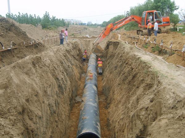 玖龙纸业厂区排污水管一期工程
